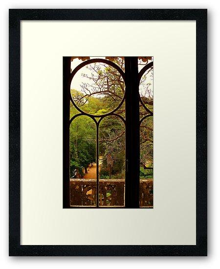 put your hand on my shoulder....at Quinta da Regaleira. by terezadelpilar ~ art & architecture