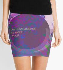 Pluto isn't a planet #sorrynotsorry Mini Skirt