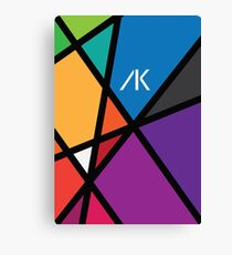 AK Rainbow  Canvas Print