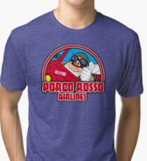 Pig airlines Tri-blend T-Shirt