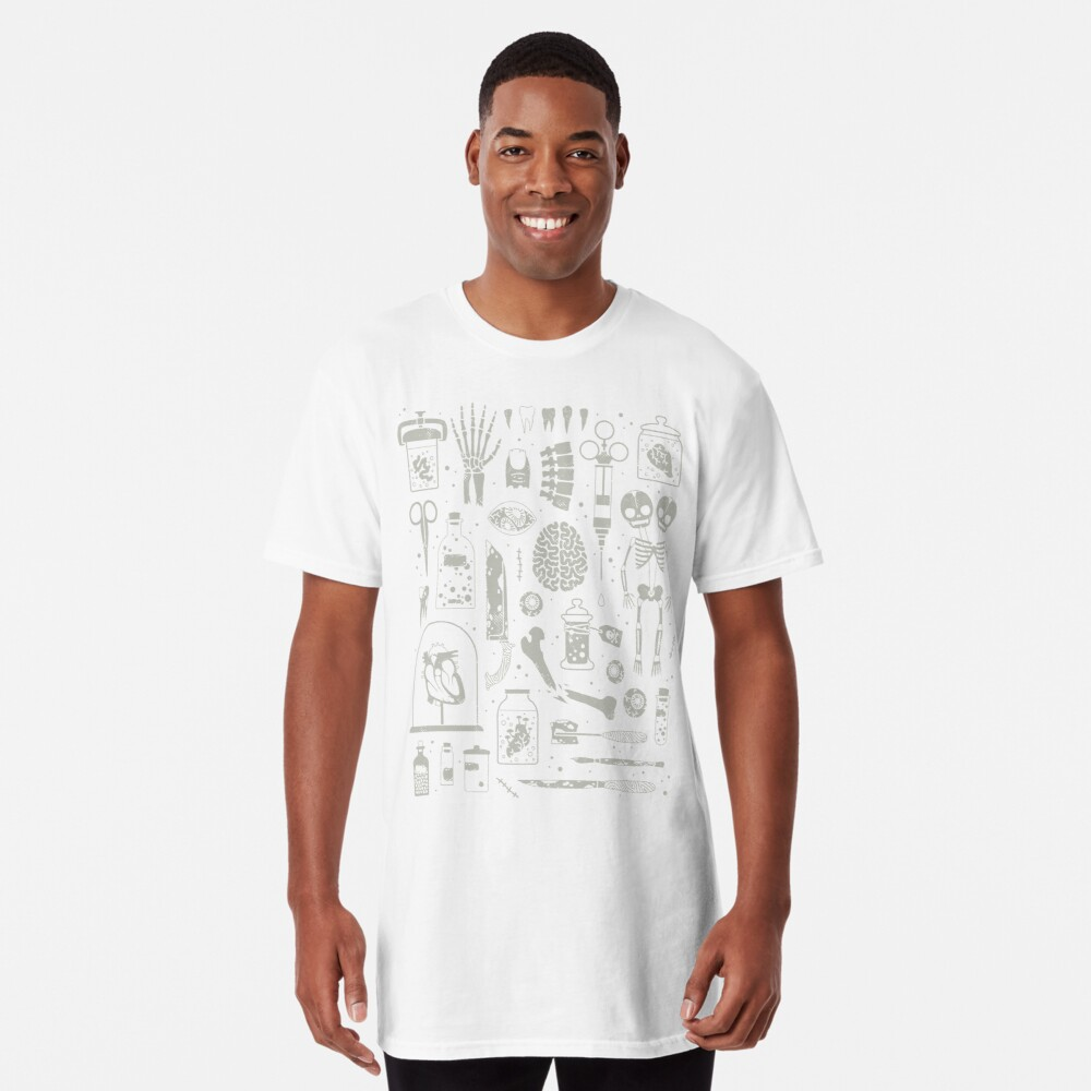 Oddities: X-Ray Long T-Shirt