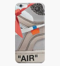 """THE 10: AIR JORDAN 1 """"OFF-WHITE"""" - WHITE iPhone Case 2018 iPhone 6s Case"""