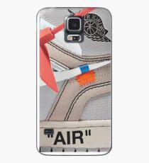 "THE 10: AIR JORDAN 1 ""OFF-WHITE"" - WHITE iPhone Case 2018 Case/Skin for Samsung Galaxy"