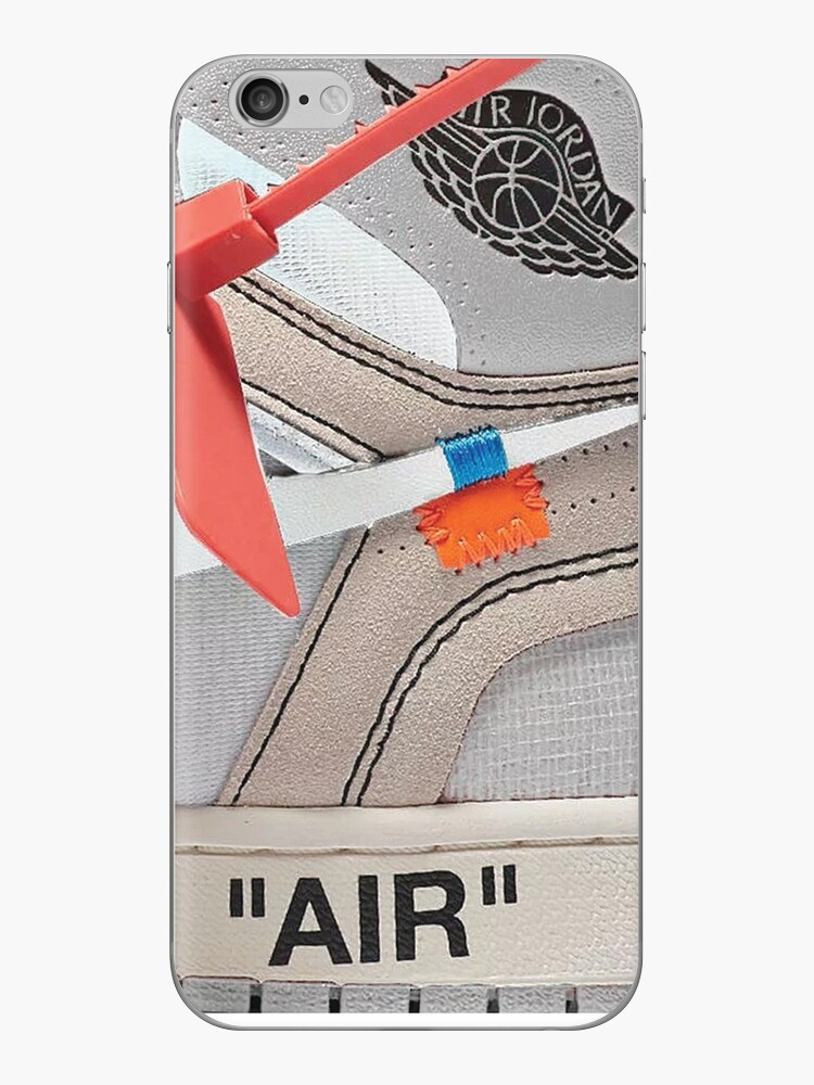 "DIE 10: AIR JORDAN 1 ""OFF-WHITE"" - WEISS iPhone Fall 2018 von sportify"