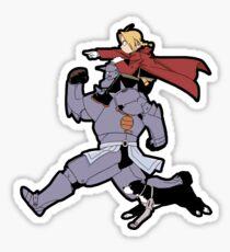 Pegatina Fullmetal Alchemist - Brothers