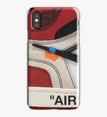 "THE 10: AIR JORDAN 1 ""OFF-WHITE"" - OG iPhone Case iPhone Case/Skin"