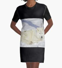Kissed by the sun Quebec / Canada : minus 25 c Graphic T-Shirt Dress