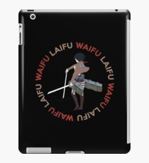 Waifu Laifu Inspired Shirt iPad Case/Skin