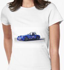 1958 Austin Healey 'BugEye' Sprite GTL III Women's Fitted T-Shirt