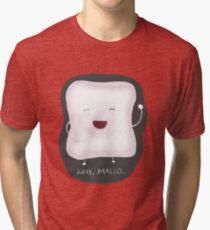 Why, Mallo. Tri-blend T-Shirt