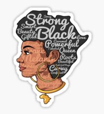 Positive Afro Natural Hair Shirt - Beautiful is in my DNA Sticker