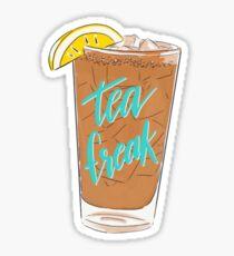 Iced Tea Freak Sticker