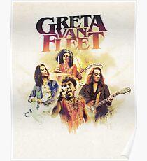 Greta Van Fleet your join our Tour 2018 Poster