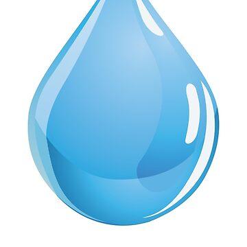 Water drop by Noedelhap