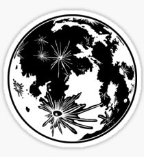 The Moon Sticker