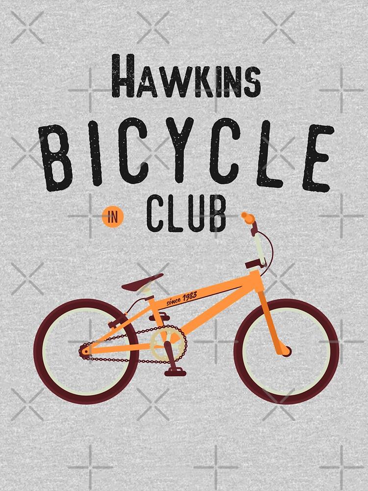 Hawkins Bicycle Club by Essenti4lgoods