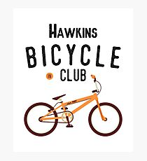 Hawkins Bicycle Club Photographic Print