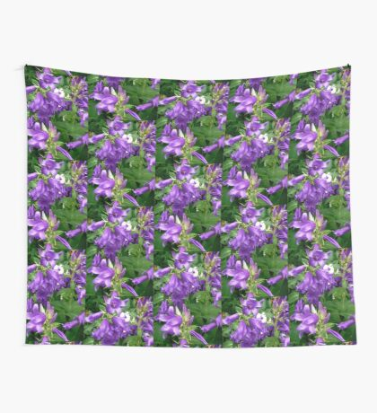 Purple flowers - All products Wall Tapestry
