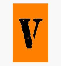 Vlone Logo Photographic Print