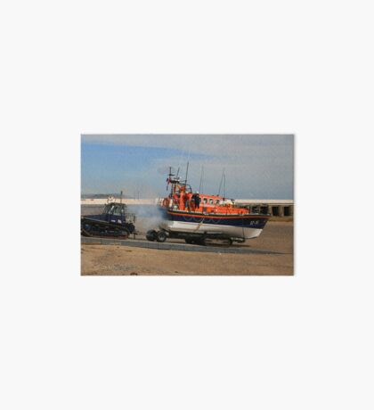 Launching The Ramsey Lifeboat Art Board