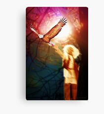 Seek Your Vision, For it is Time Canvas Print