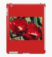 Red Blossom iPad Case/Skin