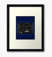 Megadrive/Genesis - Blastfade Framed Print