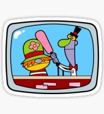 TV Puppet Pals Sticker