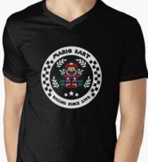 Super Mario Kart 1992 v2 Men's V-Neck T-Shirt