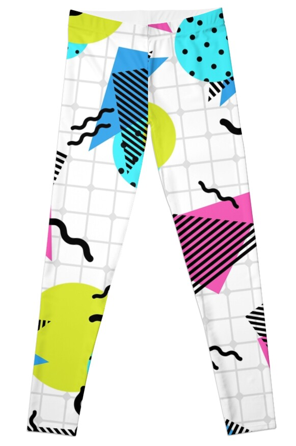80s Vibe Leggings