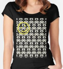 BBC Sherlock 'Bored Smiley Face'  Women's Fitted Scoop T-Shirt