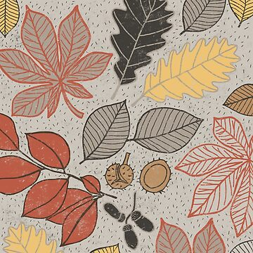 Leaves pattern by sarknoem