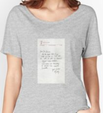 Dear Doc - Back To The Future Women's Relaxed Fit T-Shirt