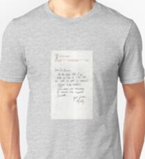 Dear Doc - Back To The Future Unisex T-Shirt