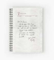Dear Doc - Back To The Future Spiral Notebook