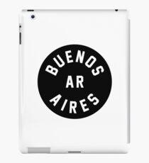 Buenos Aires - Argentina - Black Circle iPad Case/Skin