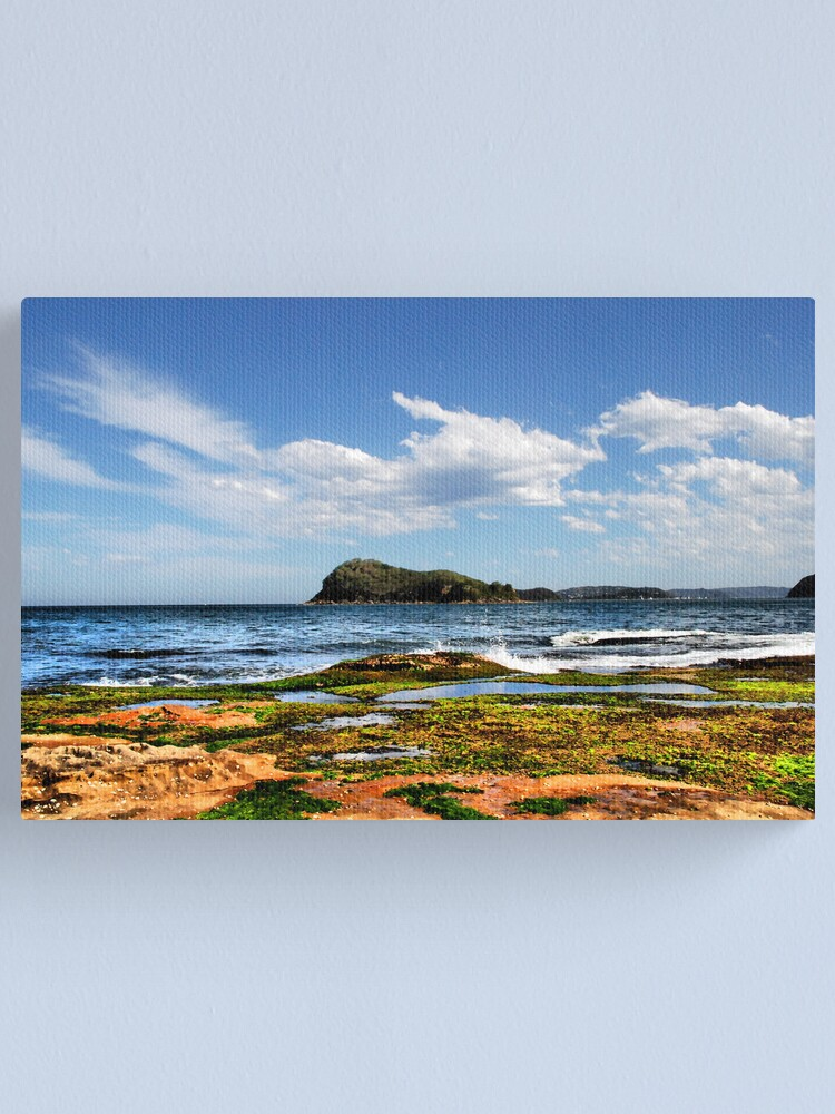 Alternate view of Lion Island Canvas Print
