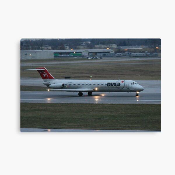 Passenger Jet Canvas Print