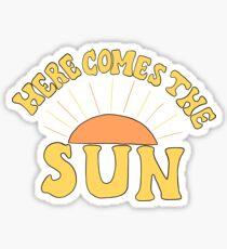 Hier kommt die Sonne Sticker