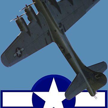 B17G Flying Fortress G-BEDF by muz2142