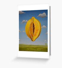 Lemon World Greeting Card