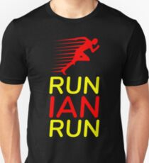 Run Ian Run (Custom Upon Request) Unisex T-Shirt