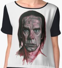Nick Cave by Nicky Anthony Chiffon Top