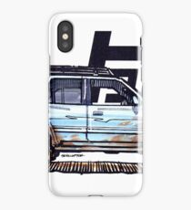 3rd Gen 4Runner TRD - Sky Blue iPhone Case/Skin