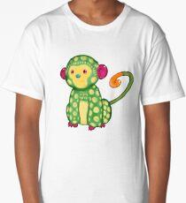 Follow your Alebrije - Frida Kahlo's Spider-Monkey Long T-Shirt