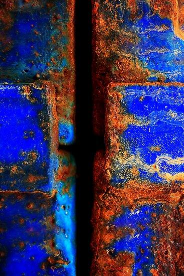 Moroccan Rust II by Didi Bingham