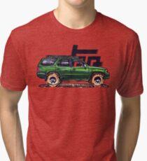 3rd Gen 4Runner TRD - Green Tri-blend T-Shirt