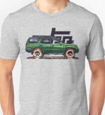 3rd Gen 4Runner TRD - Green Unisex T-Shirt