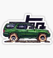 3rd Gen 4Runner TRD - Green Sticker