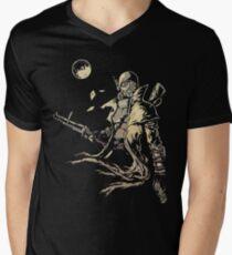 Courier Men's V-Neck T-Shirt